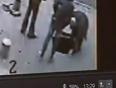 College girl falls in manhole video