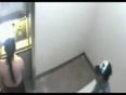 Woman attack at bank atm video