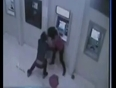 Woman robbed at atm video