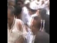 Woman beating with chappal video