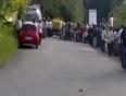 Unbelievable rickshaw balancing video