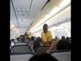 Airline hostess dancing video