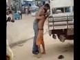 Drunk man fight video
