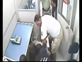 Girls caught  and fight with robber video