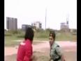 Girl cop stylish fight video