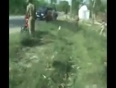 Live police encounter in up video