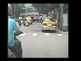 Girl dragged behind a scooter video