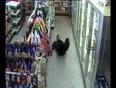 Drunk man falls in malls video