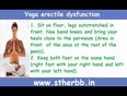 Yoga erectile dysfunction and home remedies list