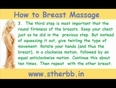 Breast massage is a simple four ideas