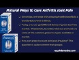 Herbal remedies for arthritis joint pain and stiffness - take care of joint health naturally