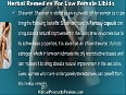 Diet And Natural Herbal Remedies For Low Female Libido Treatment