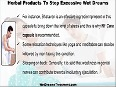 Useful Tips And Natural Herbal Products To Stop Excessive Wet Dreams In Men