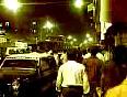 Mumbai attacks crowd cheering soldiers at Nariman house